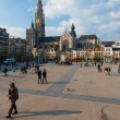 Stock Photo: Antwerp Groenplaats Square