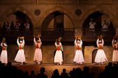 Sufi Dancer Row Tamborines Cairo — Stock Photo