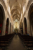 Church of Our Lady Antwerp Interior — Stock Photo
