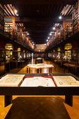 Hendrik Conscience Heritage Library Hall — Stock Photo
