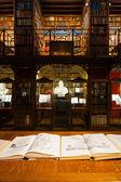 Hendrik Conscience Heritage Library Stacks — Stock Photo