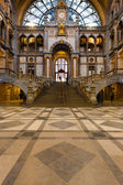 Antwerp Central Train Station Steps Main Hall — Stock Photo