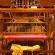 Stock Photo: Rear Traditional Wooden Handloom