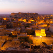Jaisalmer Fort Morning Dawn Sunrise Houses V — Stock Photo