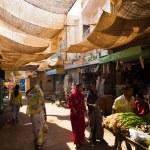 Indian Bazaar Entrance Jaisalmer Fort — Stock Photo