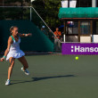 Magdalena Rybarikova Forehand Lunge — Stock Photo