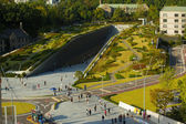 Ewha Womans University Campus Complex Aerial H — Stock Photo