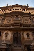 Parte anteriore di nathmal ki haveli mansion — Foto Stock