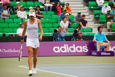Maria Kirilenko Walking Baseline Full Body — Stock Photo