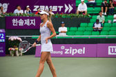 Maria Kirilenko Walking Away Profile — Stock Photo