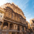 Stock Photo: Nathmal Ki Haveli Mansion Angle
