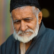 Old Kashmiri Muslim Man Shah E Hamdan Mosque — Stock Photo