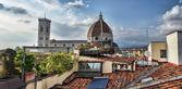 Santa Maria del Fiore in Florence, Italy — Stock Photo