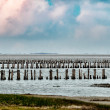 Wadden sea from the island Mando, Denmark - Stock Photo