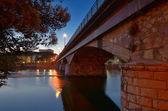 Chiavari bridge — Stock Photo