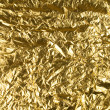 Stock Photo: Gold foil