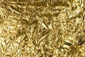 Gold foil — Stock Photo