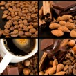 Chocolate and coffee collection — Stock Photo #10861369