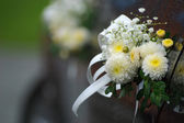 Wedding flower decoration — Stock Photo