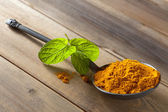Turmeric or curcuma — Stock Photo