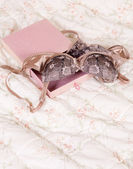 Valentine lingerie — Stock Photo