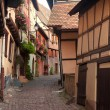Stock Photo: Eguisheim Alsace village