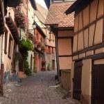 Eguisheim Alsace village — Stock Photo