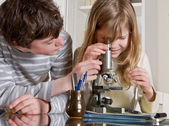Science for kids — Stock Photo
