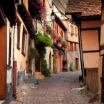 Streets of Eguisheim — Stock Photo