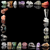 Minerals metals and gemstones — Stock Photo