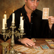 Stock Photo: Tarot cards