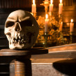 Halloween skull — Stock Photo #12384920