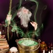 Sorcerer's soup — Stock Photo