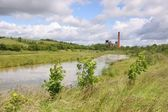 Pleasley Pit Country Park — Stock Photo