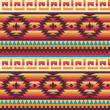 Vector de stock : Native americpattern