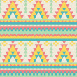 Aztec pattern in pastel tints — Stock Vector #11779661