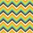 Stock Vector: Seamless pattern in aztec style