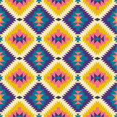 Seamless texture in navajo style #2 — Stock Vector