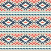 Modèle sans couture dans le style péruvien — Vecteur