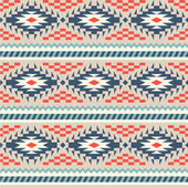 Seamless pattern in peruvian style — Stock Vector