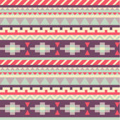 Seamless pattern in native american style — Stok Vektör