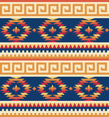 Seamless tribal pattern — Stock Vector