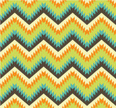 Seamless pattern in aztec style — Stock Vector