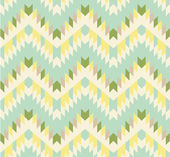 Seamless zigzag background in pastel tints — Stock Vector
