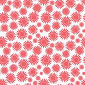 Beyaz izole çiçek — Stok Vektör