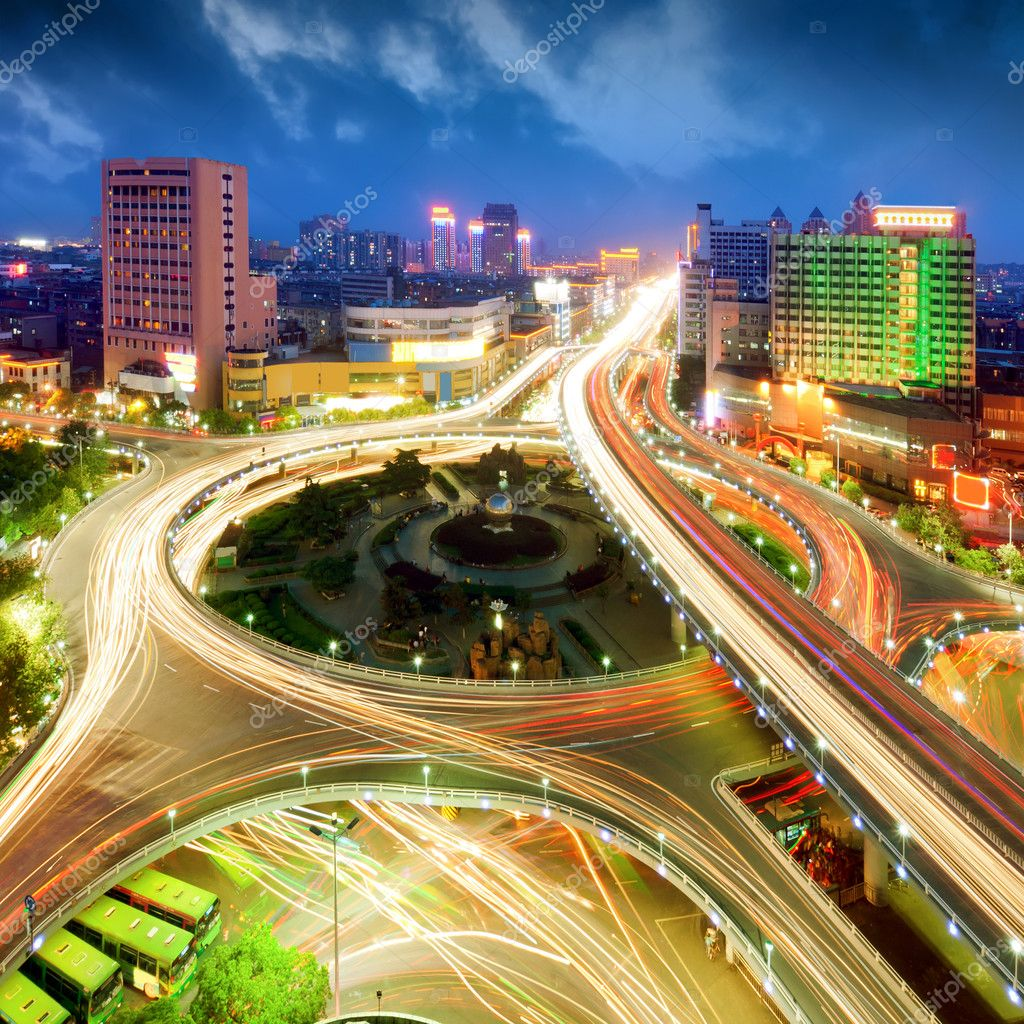 City Scape of the nanchang china. — Stock Photo #10935994