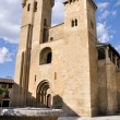 Stock Photo: Church of the Saviour, Ejea, Zaragoza (Spain)