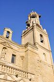 Church of Santa Maria, Ejea de los Caballeros, Spain — Stock Photo