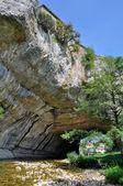 Natural arch of Puentedey, Burgos (Spain) — Stock Photo