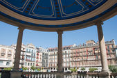 Castillo square, Pamplona Spain — Stock Photo
